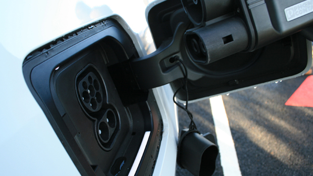 These two rapid charging stations are the first public rapid EV chargers to be installed in Lee-on-the-Solent